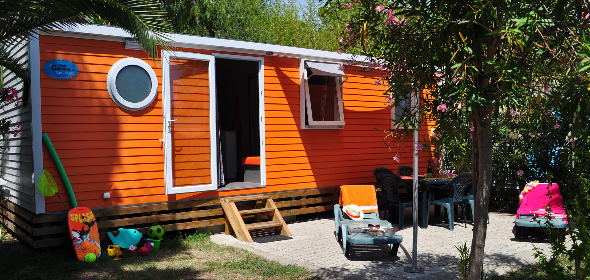 location de vacances mobile home zen 3 chambres. Black Bedroom Furniture Sets. Home Design Ideas